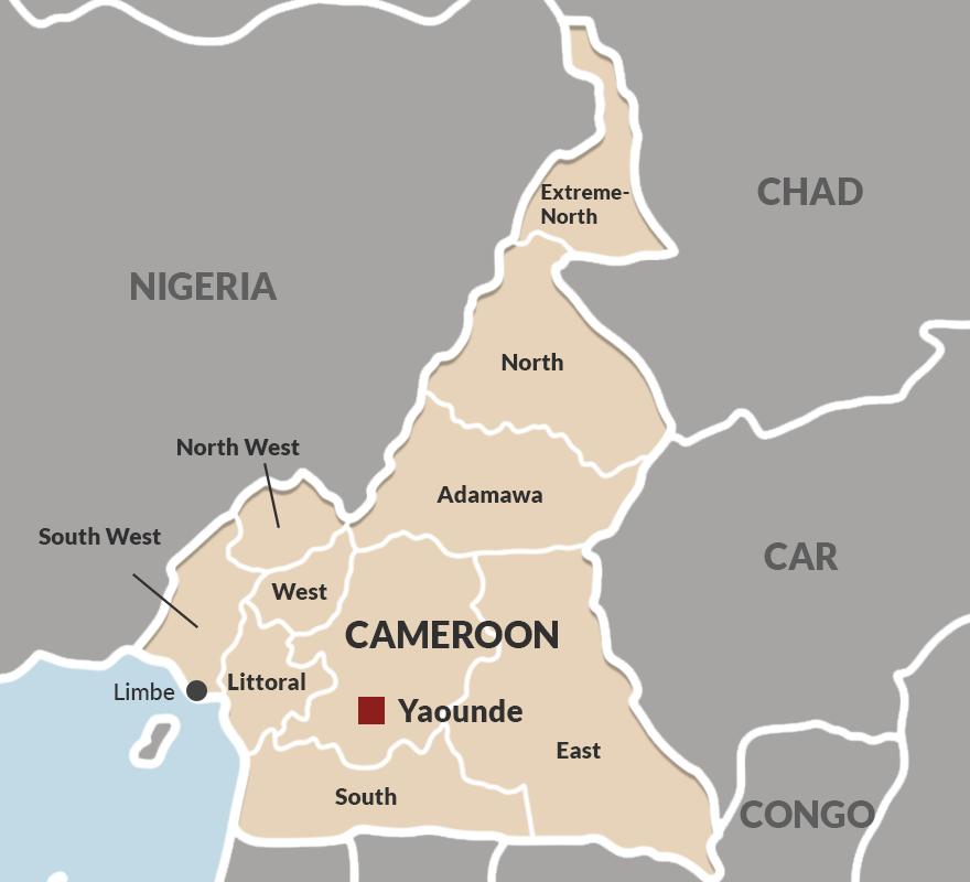 Regions in Cameroon
