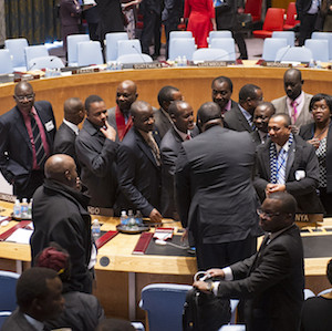 South Africa to challenge the African spoilers of UN