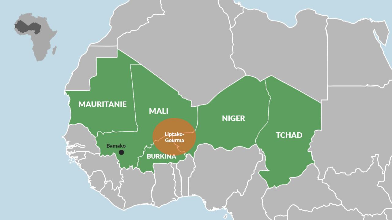 Le G5 Sahel et la région du Liptako-Gourman
