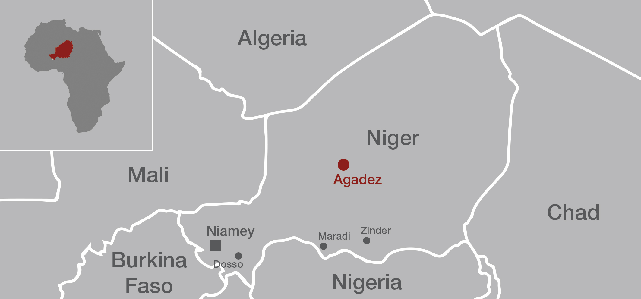 Agadez in Niger