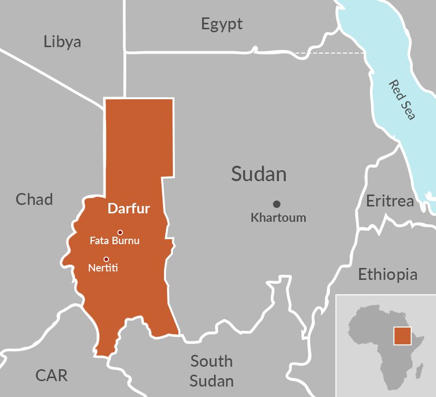 Darfur Map Africa Darfur's conflict could return to square one   ISS Africa
