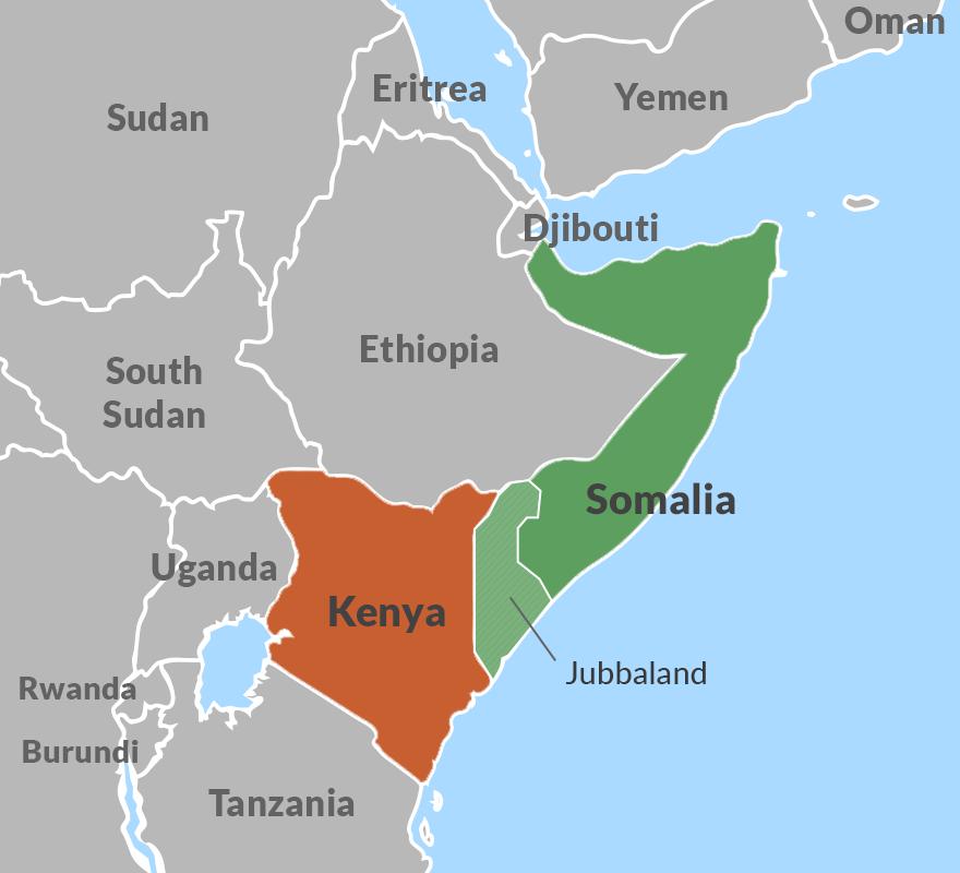 The Horn of Africa region