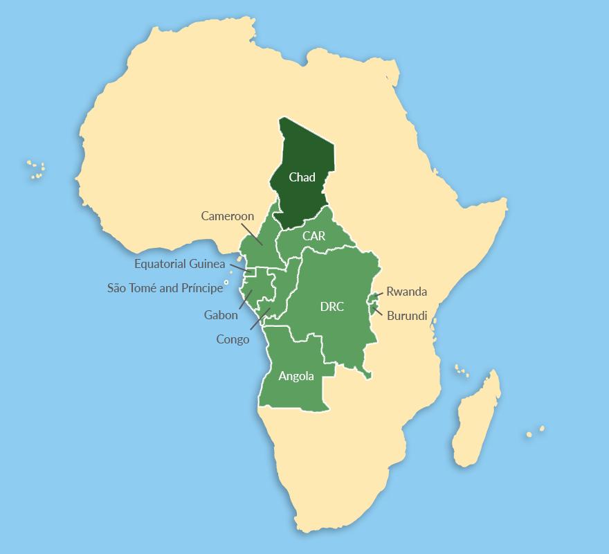 ECCAS countries