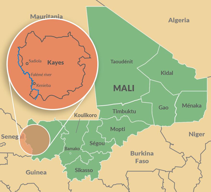 Kayes region of Mali
