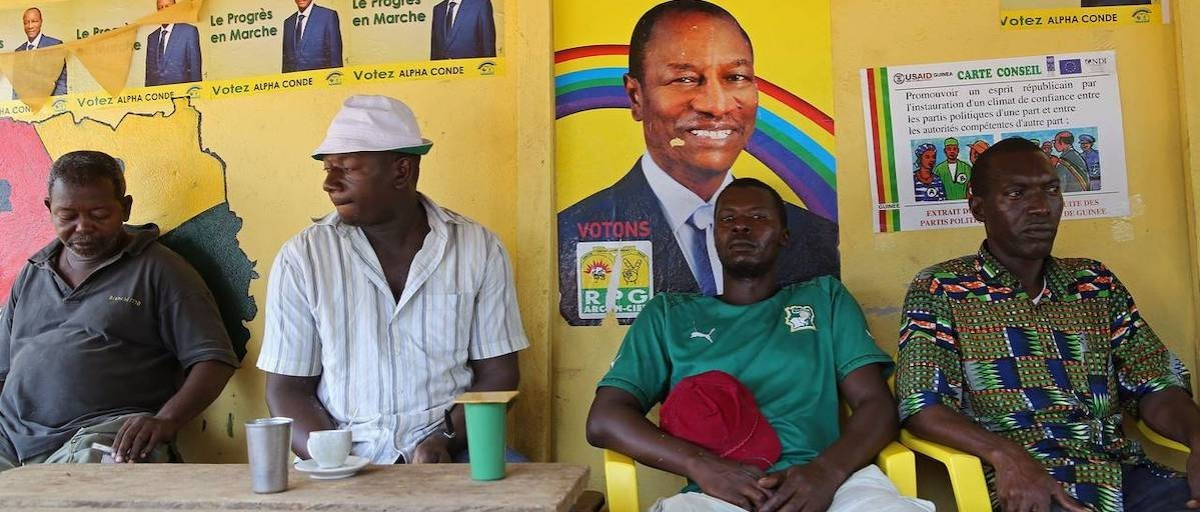 carte election legislative 2020 Guinea's president wants his third term at all costs   ISS Africa
